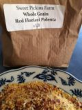 Could such treasure ever be less ostentatiously package? As you can see, when ground it is indeed flecked with red, and it shatters into gorgeously irregular grits. And, it's even more tasty than it is beautiful Thanks, Sweet Pickins!.