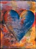 dine painterly heart