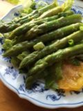 asparagus marinated lime