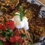 Zucchini Fritters, and…