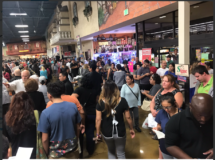 "The ""This is insane line at Cardenas Market on the last night of Early Voting"" in Las Vegas, Nevada. Photo credit: @josemacias8"