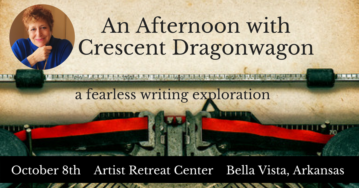 An Afternoon with Crescent Dragonwagon